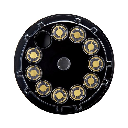 Gold Quartz Monitoring Crystals,5 MHz&6MHz,AT-Cut for Thin Film Deposition Control 05