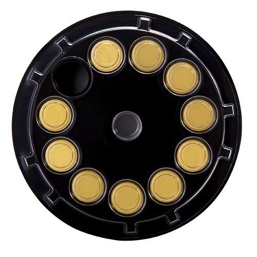 Gold Quartz Monitoring Crystals,5 MHz&6MHz,AT-Cut for Thin Film Deposition Control 06
