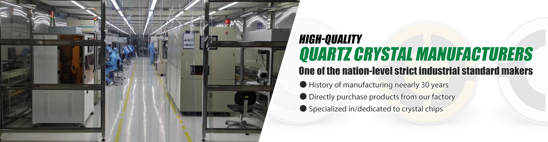 high-quality quartz crystal manufacturers Banner 1029